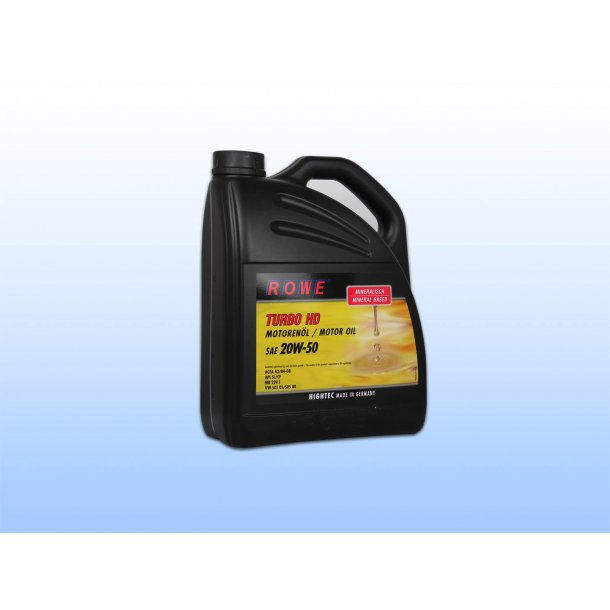 HIGHTEC TURBO HD SAE 20W-50 5 L