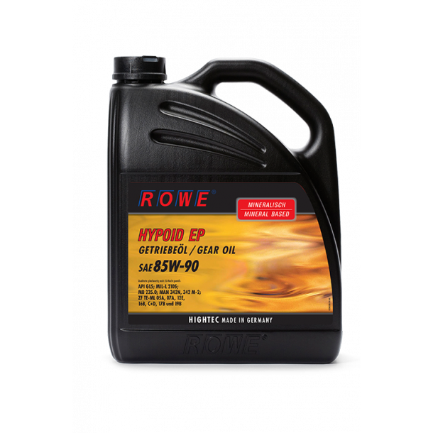 ROWE Hightec Hypoid 85W-90 / 5 L