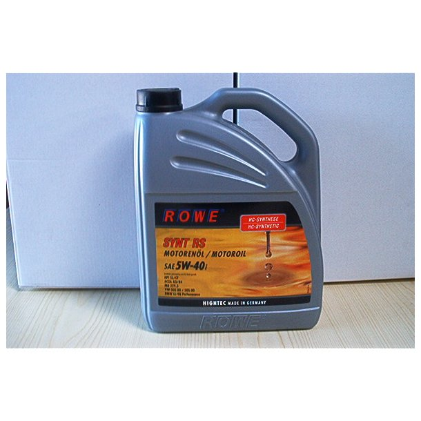 ROWE Highlec Synt. 5 W-40 I RS 5 L
